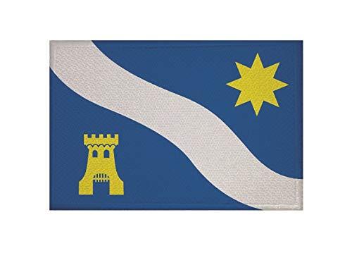 U24 Patch Alphen aan de Rijn (Nederland) vlag opstrijkbaar patch 9 x 6 cm