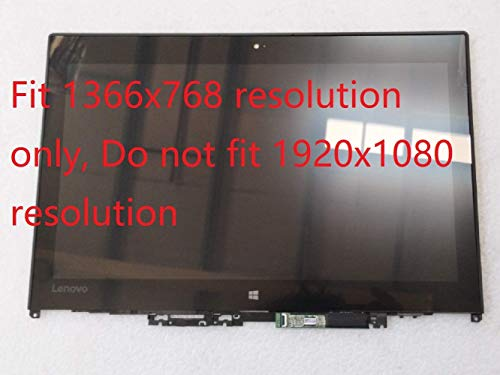 New Replacement for Lenovo ThinkPad Yoga 260 01AX903 Touch Screen LCD LED Assembly with Bezel LP125WH2-SPT2 12.5 inch HD 1366x768 Version