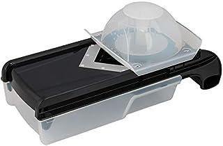 Prestige 2724296582177 6 In 1 Mandolin Slicer, Black, W 35.6 x H 12.8 x D 8.2 cm