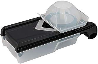 Prestige 6 In 1 Mandolin Slicer, Black, W 35.6 x H 12.8 x D 8.2 cm
