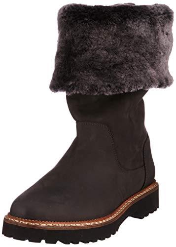 Sioux Velma-Lf, Damen Kurzschaft Stiefel, Grau (Lead 002), 38 EU (5 UK)