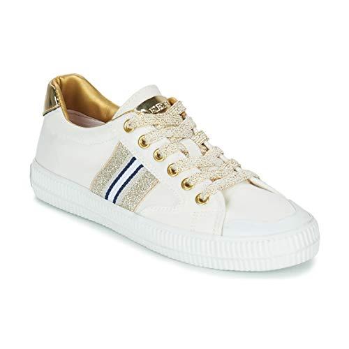 REPLAY EXTRA Sneakers dames Wit/Goud Lage sneakers