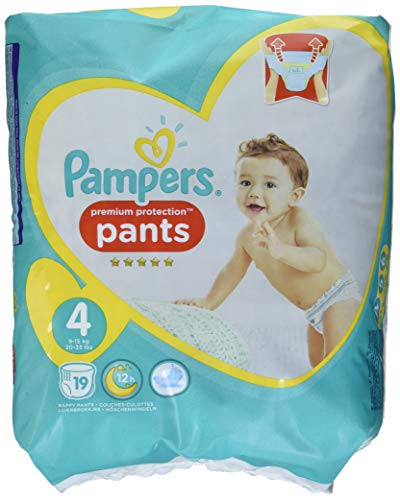 Pampers Premium Protection Pants Größe 4, 19 Windeln