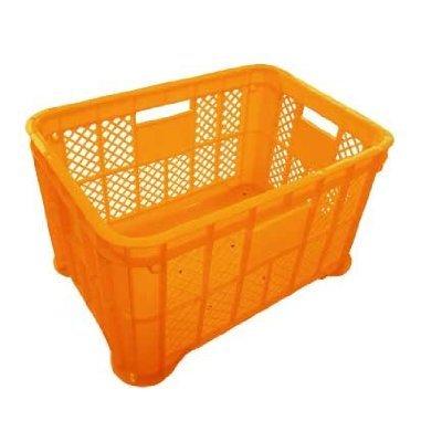採集コンテナ(オレンジ)平底3個 約520(横)*約365(縦)*約305(高さ)