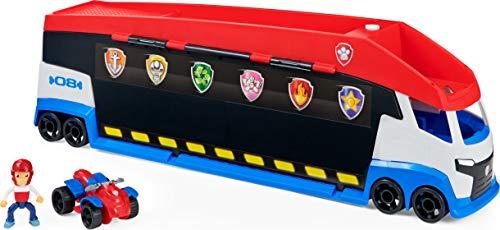 LA PAT' PATROUILLE - CAMION PAT' PATROUILLEUR 2.0 - Véhicule Camion Pat' Patrouilleur 2 en 1 avec Circuit, Véhicule et Accessoires Intégrés - Paw Patrol - 6060442 - Jouet Enfant 3 Ans et +