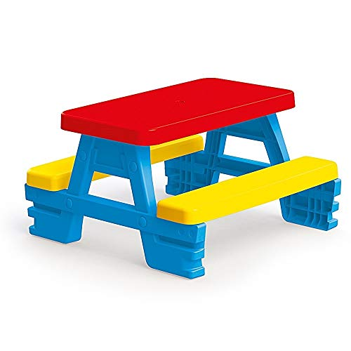 Kinder Tisch, Picnic Table,Kinder Sitzgruppe Kinderbank Kindermöbel Kindergartenmöbel Gartenmöbel Picknickgruppe 2 Bänke + Tisch