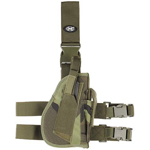 MFH Pistolet Leg Holster 30725A Fixation de Jambe et de Ceinture Droite (M 95 CZ tarn)