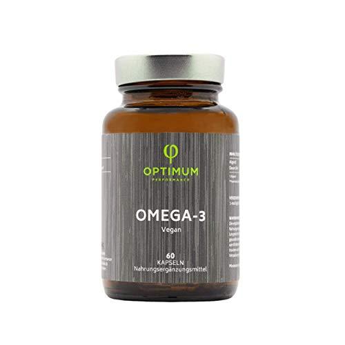 Omega 3 Vegan [1000 mg]   hochdosiertes Omega3 aus Trademark Algenöl Algatrium®   500 DHA pro Tagesdosis Essentielle Omega 3 Fettsäuren   Unterstützt normale Gehirnleistung & Sehkraft