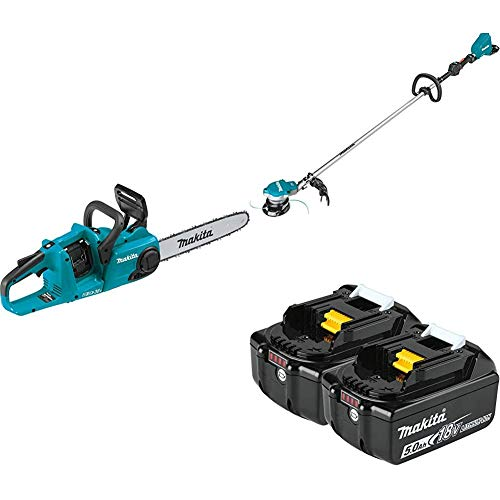 Purchase Makita XCU03Z 18-Volt X2 (36V) LXT Lithium-Ion Brushless Cordless 14 inch Chain Saw and XRU...