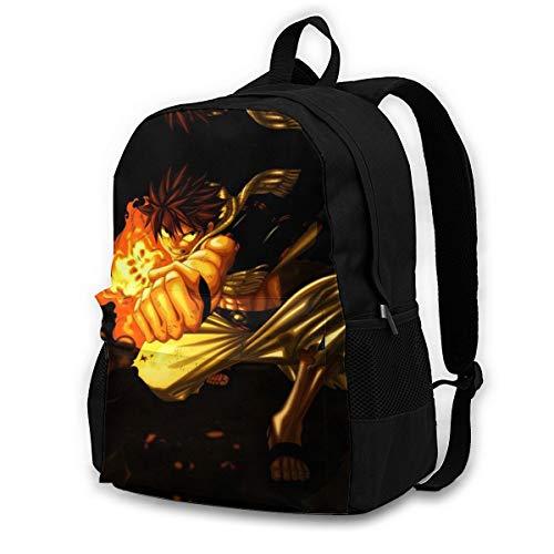 Childrens School Bag Fairy Tail-h Daypack Novelty Rucksack Classic Basic Backpack for Men/Women/Kids Black 145526973