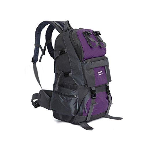 Sports de plein air et de loisirs Voyage sac à dos grande capacité 40 + 5L extérieur sac à dos en nylon imperméable à l'eau