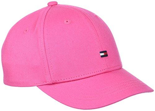 Tommy Hilfiger Classic BB Cap Gorra de béisbol, Rosa (Pink Flambe 901), Medium Unisex Niños