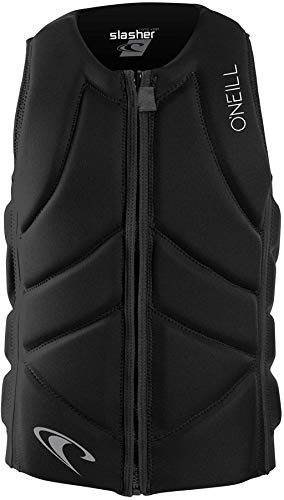 O'Neill Wetsuits Men's Slasher Comp Life Vest, Black, Large