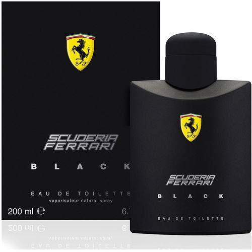 Perfume Ferrari Black Masculino Eau De Toilette 200ml