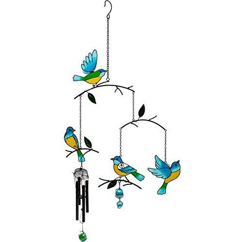 Something Different Windspiel mit Vögeln (Einheitsgröße) (Bunt)