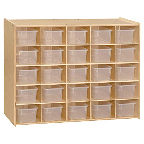 Contender 25 Cubbies Tray Cabinet