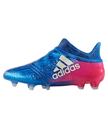 adidas Unisex-Kinder X 16+ Purechaos FG Fußballschuhe, Blau (blau blau), 38 EU