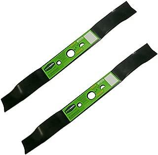 Greenworks 2 Pack of Genuine OEM Replacement Mower Blades 29172-2PK