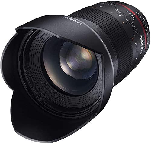 Samyang 35mm F1.4 Objektiv für Anschluss Sony Alpha