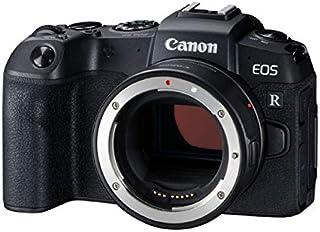 Canon EOS RP with EF-EOSR Adapter Full Frame Mirrorless Camera, Black (RPBODY+EF-EOSR)