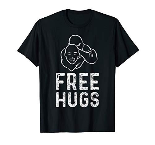 Free Hugs Lustiges Brazilian Jiu-Jitsu MMA BJJ T-Shirt T-Shirt