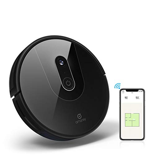 Amarey A900 Robot Vacuum- Smart Navigating Robot Vacuum Cleaner, Wi-Fi Connected, Works with Alexa, Visual Mapping, APP Control,Strong Suction, Self-Charging, Best for Pet Hair, Hard Floors to Carpet