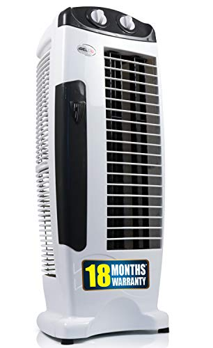 iBELL DELUXE Tower Fan with 25 Feet Air Delivery, 4 Way Air...
