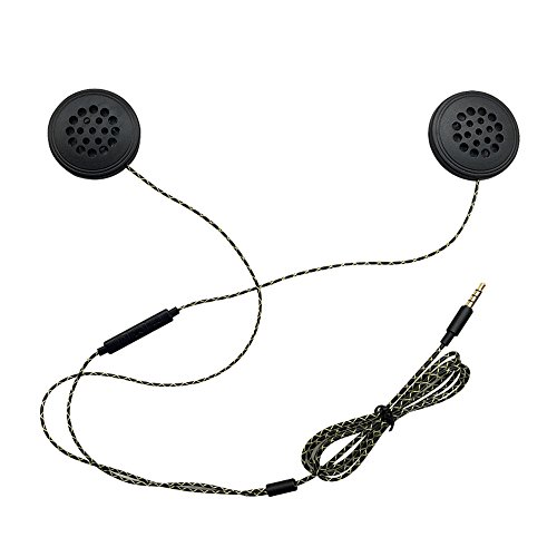 Docooler Helmet Headphones Wired Motorbike Intercom 3.5mm...