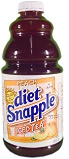 Snapple Diet Peach Tea, 64 oz (8 Bottles)