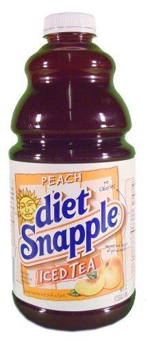 Snapple Diet Peach Tea, 64 oz (8 Bottles)