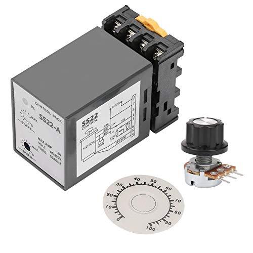 Regulador de motor electrónico sensible 90 / 1700RPM Controlador de velocidad del motor de procesamiento rápido para ajustar la velocidad del motor