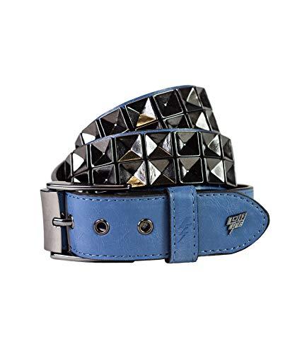 Lowlife Concave Belt - Blue Matte Black - Large