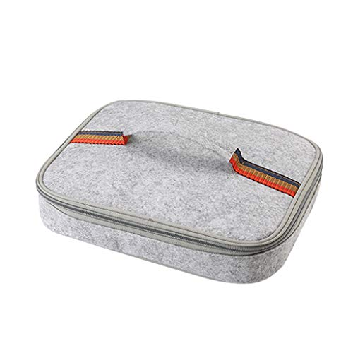 99native Lunch Tasche, Kühltasche Lunch Bag, Thermotasche Isoliertasche, Picknicktasche Mittagessen Tasche, Wasserdicht für Arbeit, Schule, Ausflug Lebensmitteltransport (S)