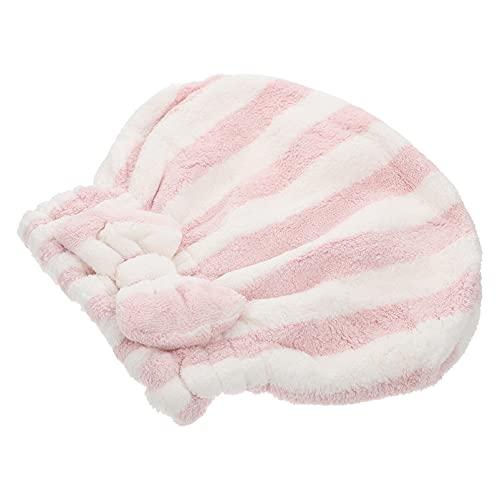 FOMIYES Toalla de Secado de Cabello Gorros de Microfibra para Secar El Cabello Toallas de Baño Elásticas Envolturas para Secar El Cabello Sombrero para Mujeres Niñas Uso en El Hogar