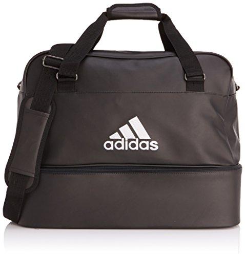 adidas Fußballtasche Football Tasche, Black/White, 51 x 40 x 26 cm, 94 Liter