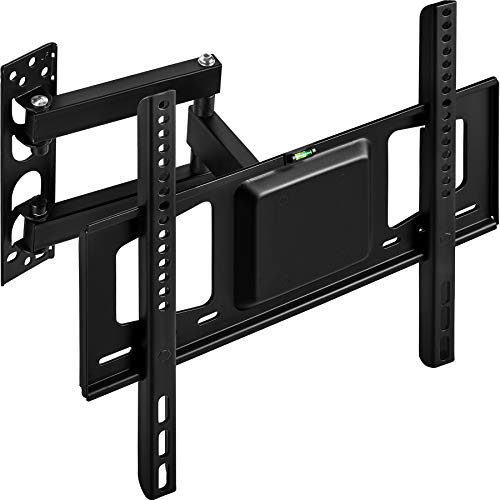 TecTake Soporte de Pared para TV de Pantalla Planta, inclinable y Giratorio VESA máx. 400x400   máximo 60kg   66-140 cm (26' - 55')