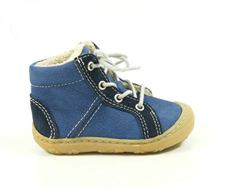RICOSTA George, Chaussures Oxford Mixte Enfant - Bleu - Bleu, 18 EU