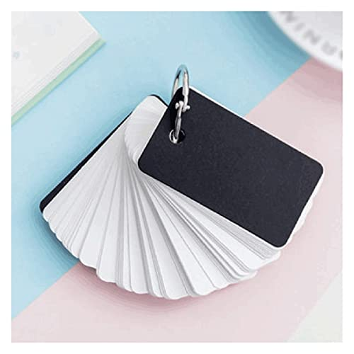 YHYH computadora portátil Mini Cuaderno Pequeño Mensaje Tablero Simple Personalidad Anillo Portátil Hebilla Kraft Papel Cuaderno en Blanco Tarjeta de Hoja Suelta Cuaderno de Escritorio