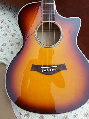 FKKLGNBDR Guitarra Guitarra Acústica De 41 Pulgadas para...