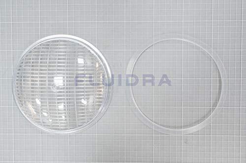 Projektor Objektiv Transparent + Dichtung Extra Flach Astralpool