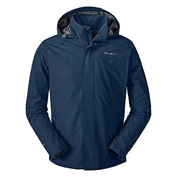 Eddie Bauer Men s Rainfoil Packable Jacket Med Indigo Large