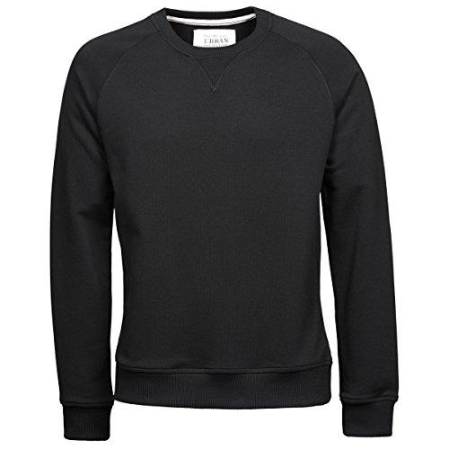 Tee Jays Herren Urban Pullover (L) (Schwarz)
