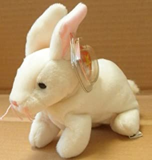 TY Beanie Babies Nibbler the Rabbit Plush Toy Stuffed Animal by G72824794 by G72824794