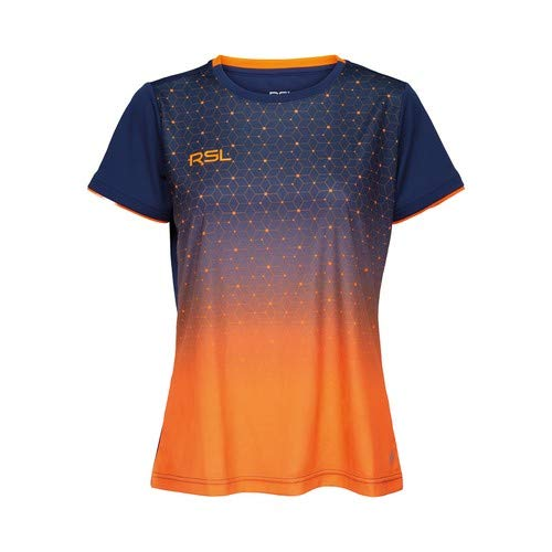 RSL Female Cirium T-Shirt blau/orange - orange/blau, S