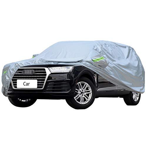 Autoabdeckung Kompatibel mit Audi q7 q5 a8l a7 a5 a1 Auto Abdeckung schutzhülle SUV dicken Oxford Tuch Wind und Regen und Kratzfest warme autokleidung (Size : Q7)