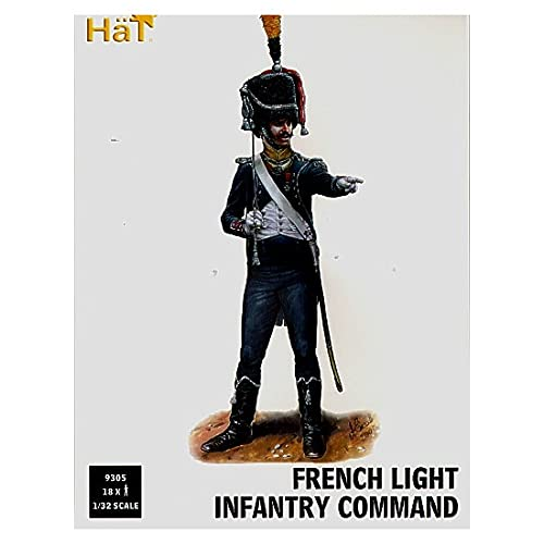 Hat Figures 1:32 - French Light Infantry Command - HAT9305