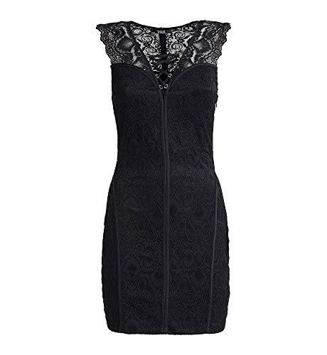 Guess ELGA Dress Vestito, Nero (Jet Black A996 Jblk), Medium (Taglia Produttore:M) Donna