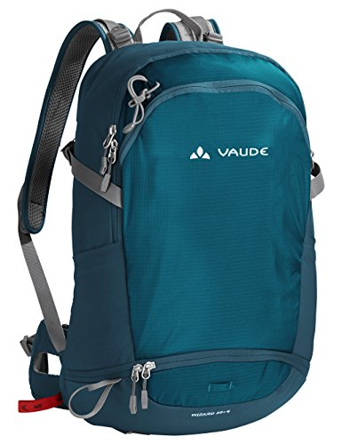 VAUDE Wizard 30+4 - Mochila senderismo - color blue sapphire, talla 34L