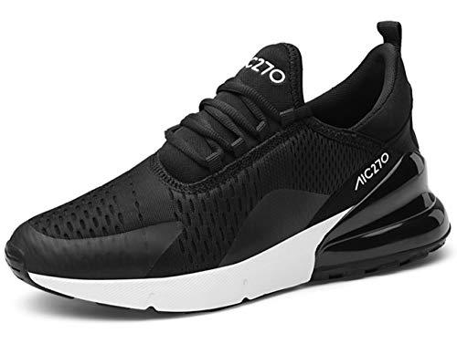 GJRRX Herren Damen Sportschuhe Laufschuhe mit Luftpolster Turnschuhe Profilsohle Sneakers Trainer Leichte Air Schuhe Unisex 35-47