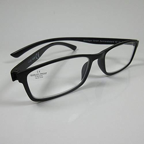 Fitsch Online UG Moderne leesbril +2,5 zwart voor hem en haar kant-en-klare bril leeshulp kijkhulp